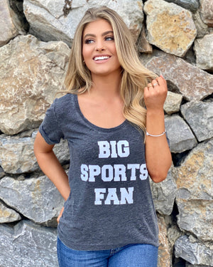Big Sports Fan Flowy Burnout