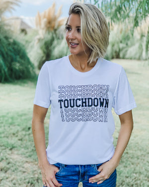 Football – Touchdown x 7 – Comfy Tee