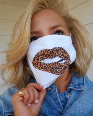 Leopard Lips Basic Stretch Daily Face Cover
