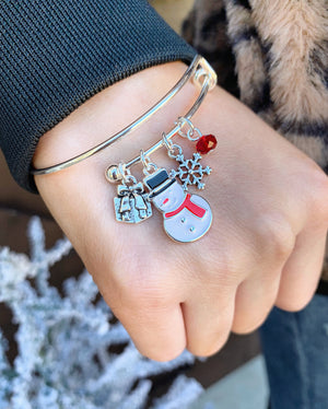 Holiday Bangle Bracelets (3 Styles)