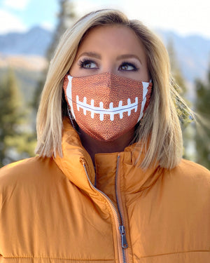 Adjustable Football Face Cover
