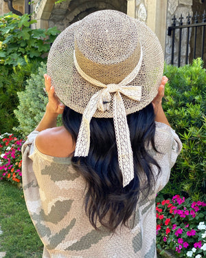 Vintage Lace Dragonfly Hat