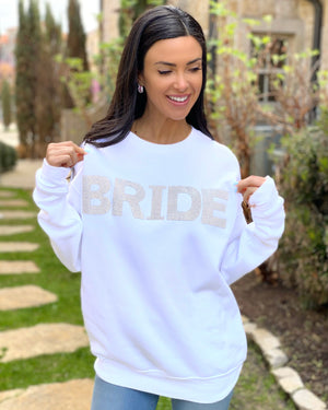 BRIDE Crystal Sweatshirt