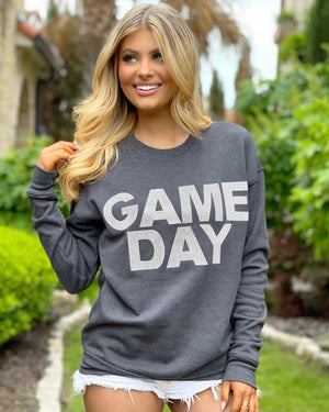 GAME DAY Crystal Pullover