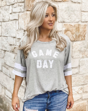 "GAME DAY – Oversized ""Super Soft"" Jersey Tee"