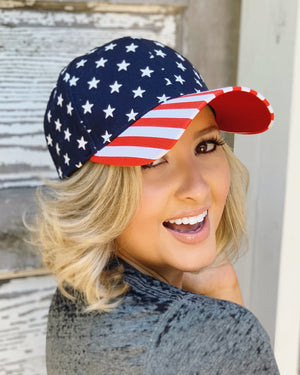 American Flag Cap - Live Love Gameday®
