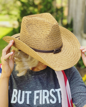 Natural Cowgirl Hat