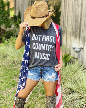 American Flag Scarf Vest - Live Love Gameday®