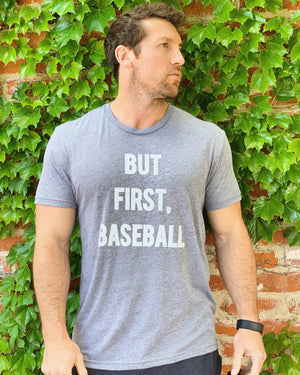 But First, Baseball Unisex Tee