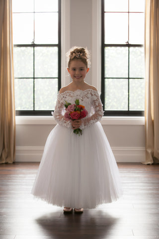 Duchess Alexia Flower Girl Dress