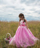 Duchess Delilah Pink Flower Girl Dress