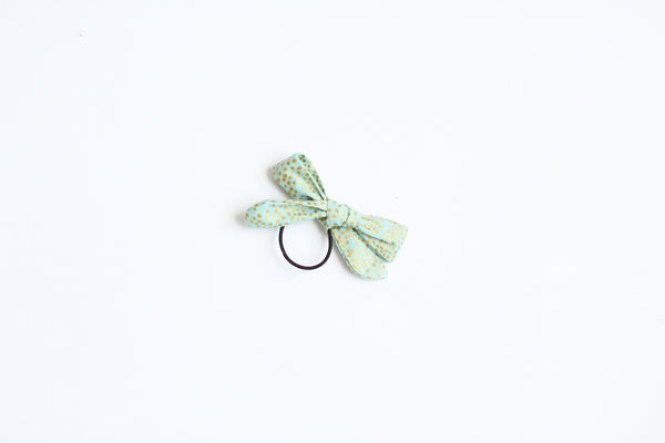Hand-tied Bow Hair Tie