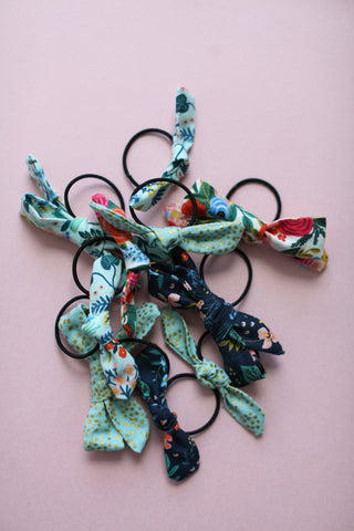 Rifle Paper Co. Knot Bow Hair Ties