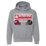 Military Bowl  Virginia Tech Vs. Cincinnati Youth Hoodie Sweatshirt