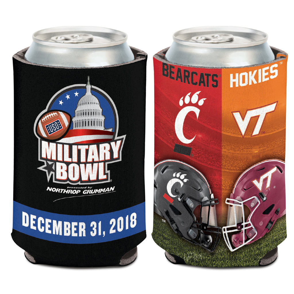Military Bowl Wincraft Virginia Tech Vs. Cincinnati Cooler