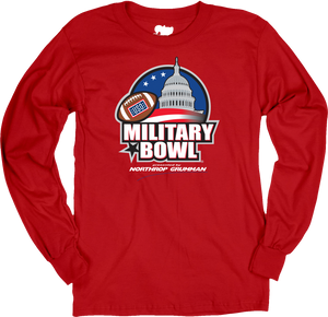 Military Bowl Ringspun Cotton Long Sleeve T-Shirt