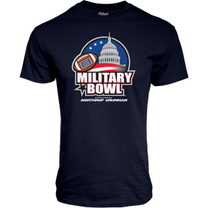 Military Bowl Ringspun Short Sleeve T-Shirt