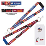 Military Bowl Wincraft Virginia Tech Vs. Cincinnati Lanyard  & Ticket Holder