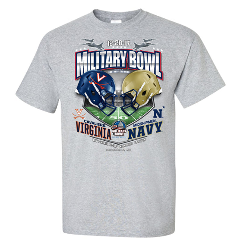 2017 Military Bowl Team-vs-Team Youth Cotton Short Sleeve Tee