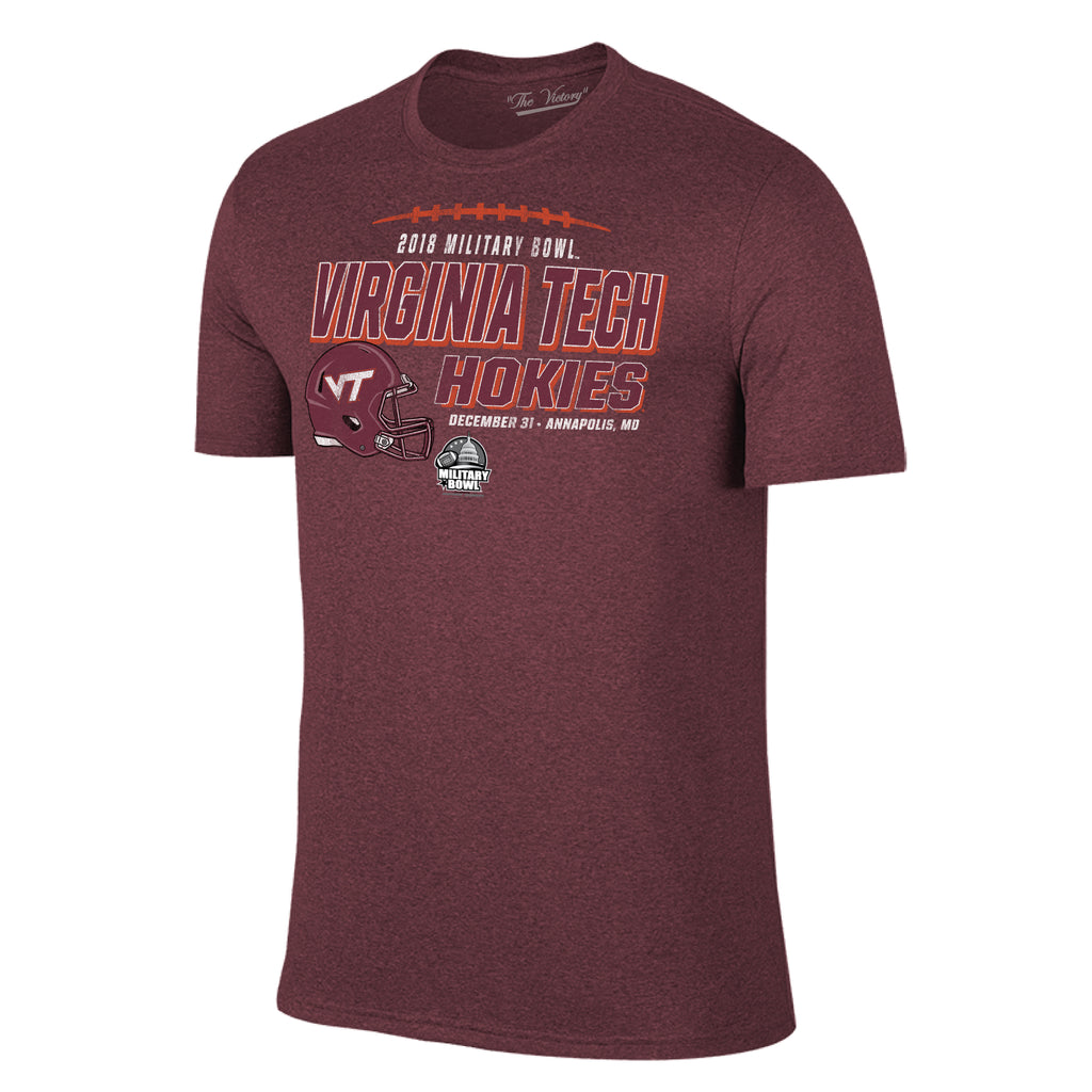 Military Bowl Virginia Tech Short Sleeve The Victory Tee Shirt by Retro Brand