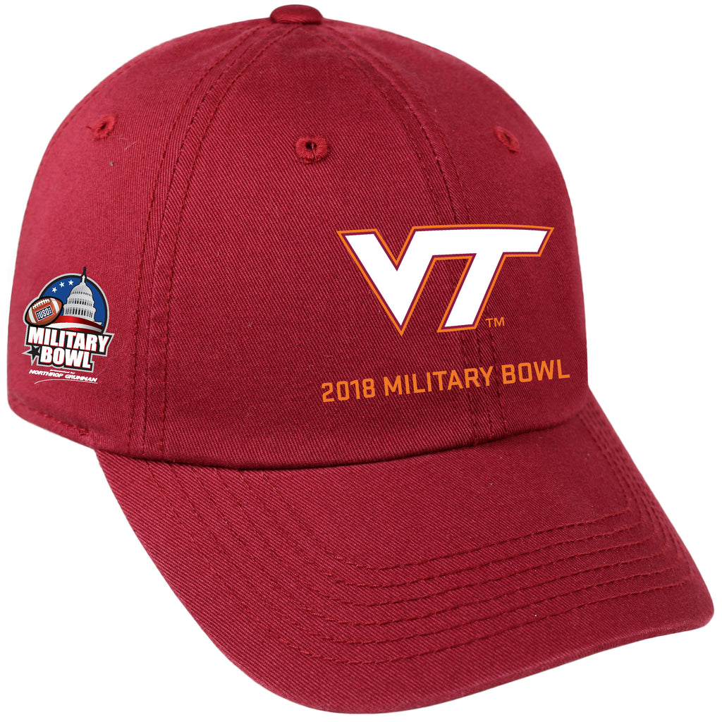 Military Bowl Top of the World Virginia Tech Cap