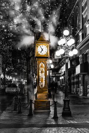 Steam Clock an Icon of Vancouver