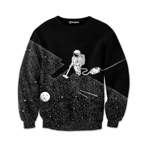 Space Cleanup Crewneck