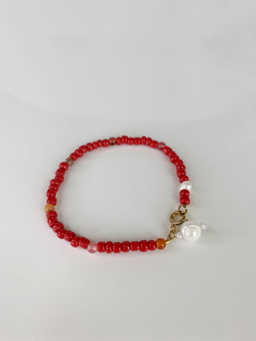 Carin red bracelet