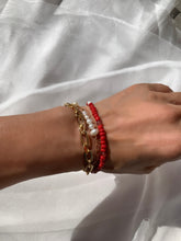 Load image into Gallery viewer, Carin red bracelet