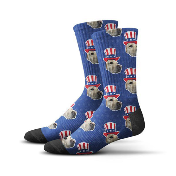USA Hat Socks