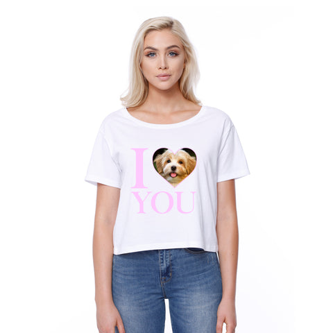 I Heart You - Custom - Boxy Tee