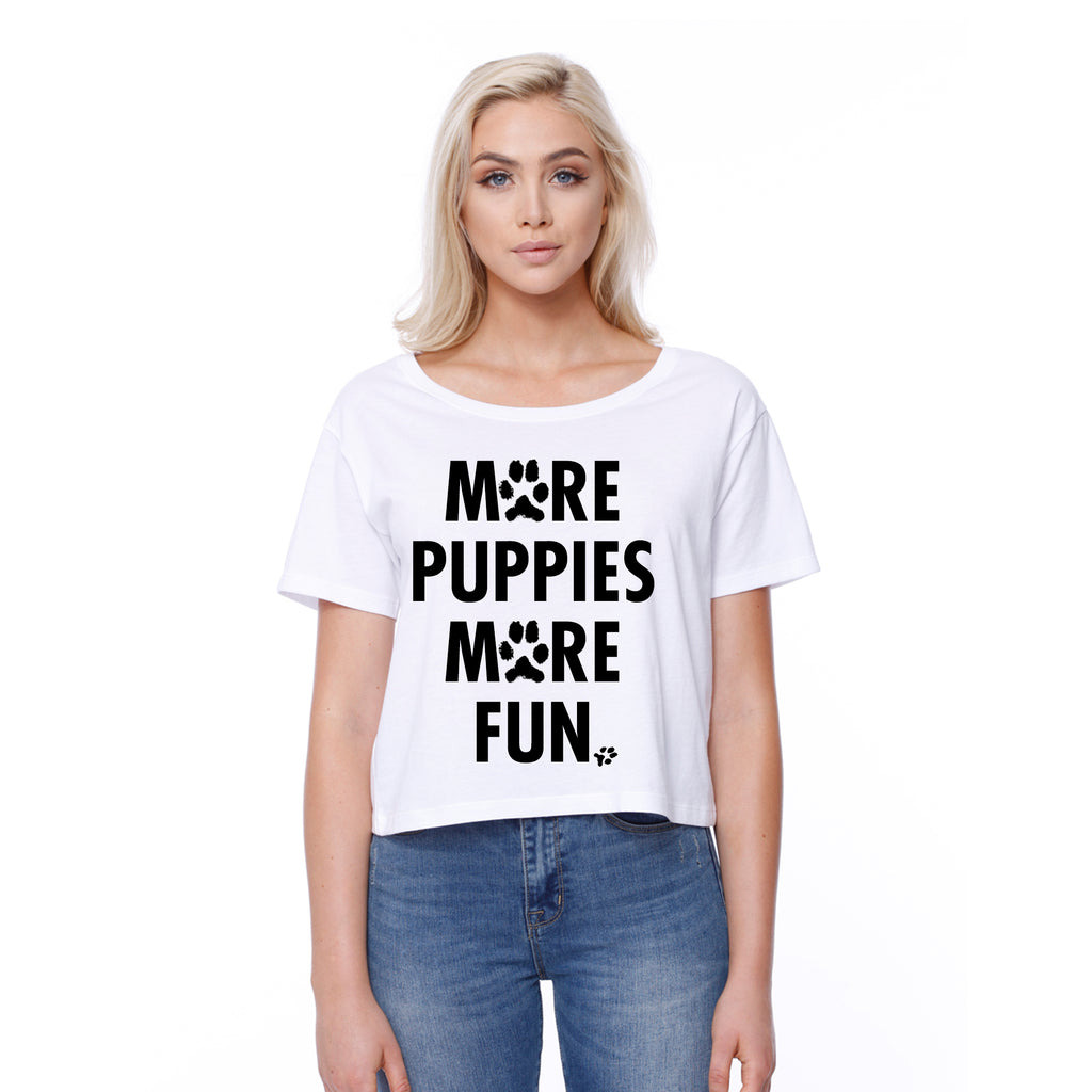 More Puppies More Fun - Boxy Tee
