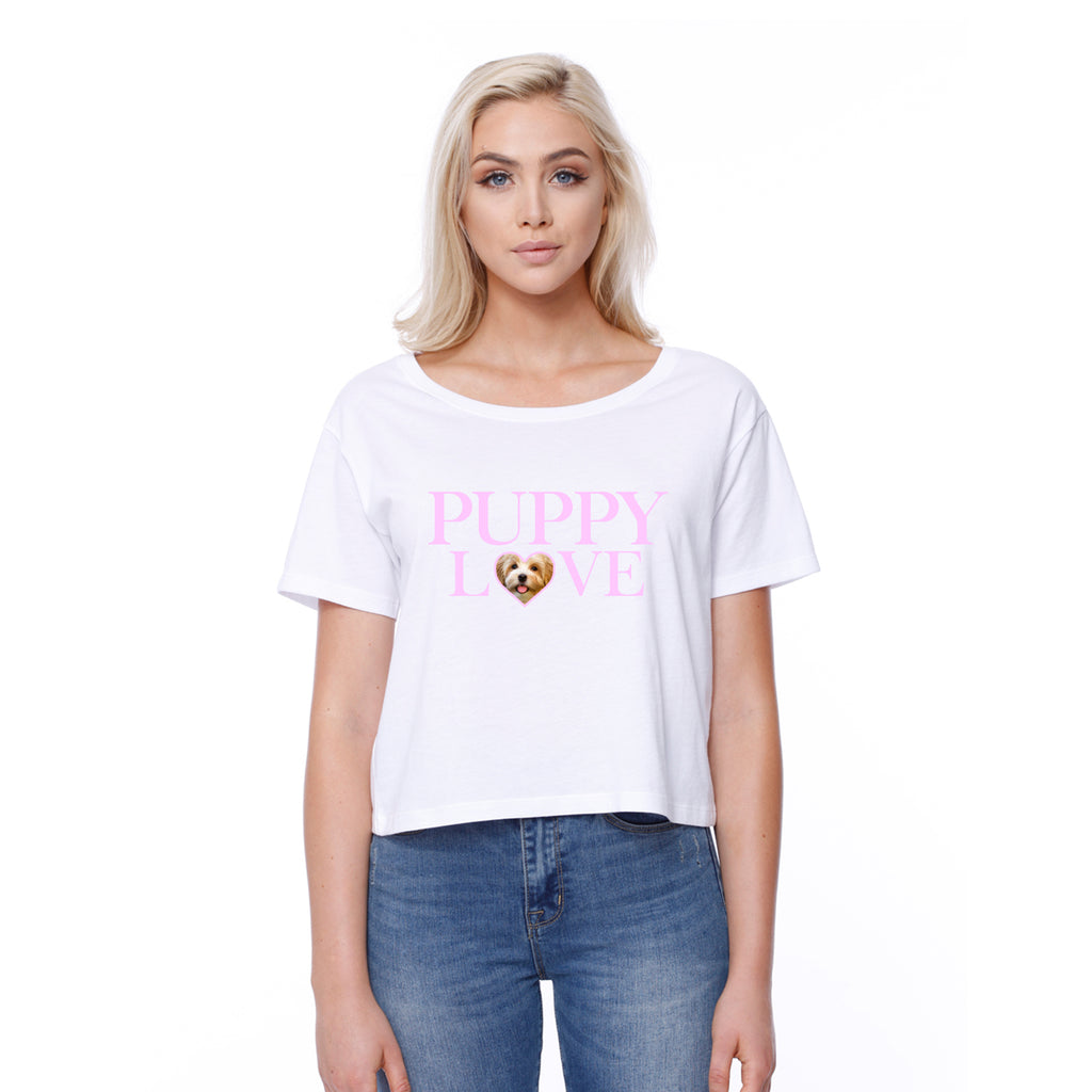 Puppy Love Heart - Custom - Boxy Tee