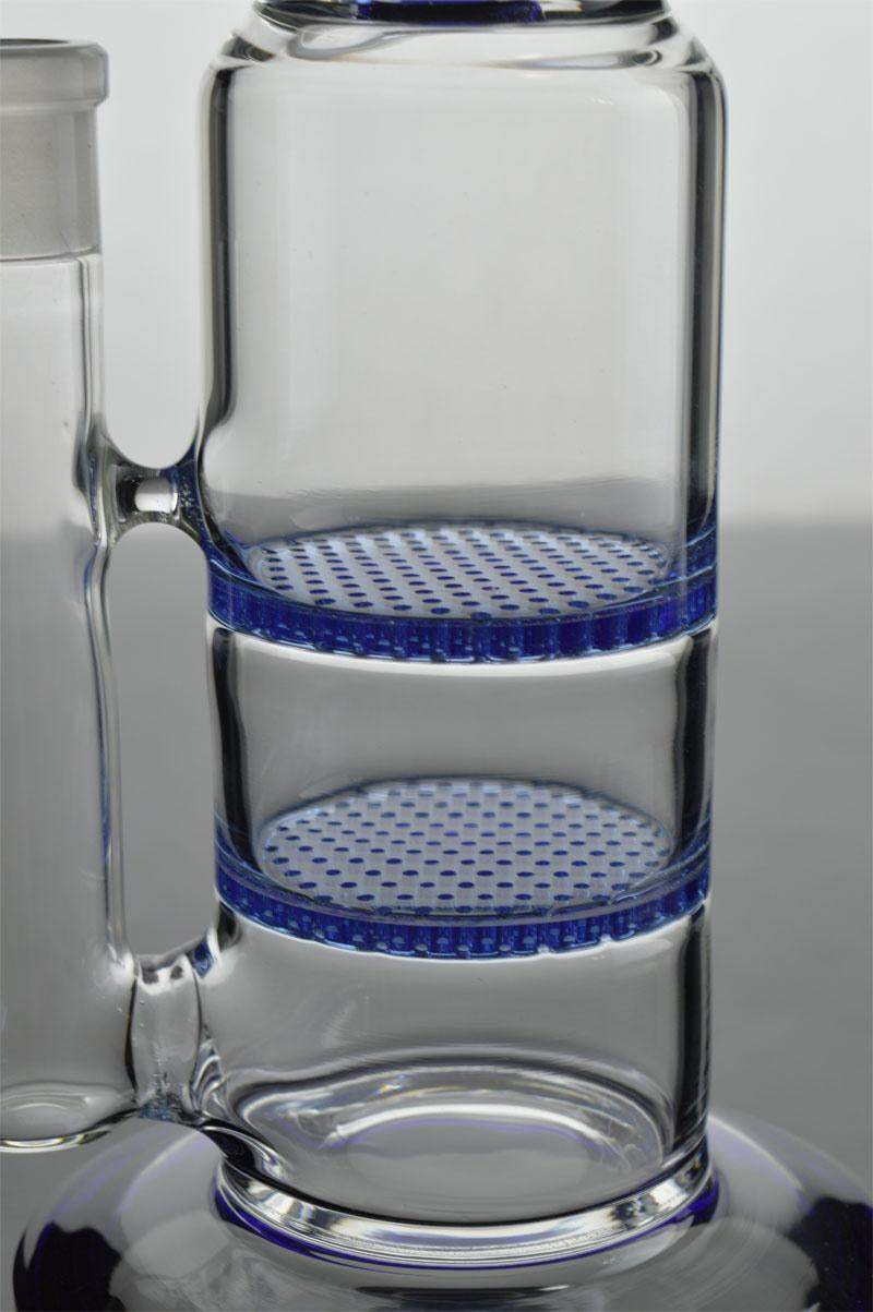 Big Blue - Double Honeycomb to 8-Arm Tree Perc