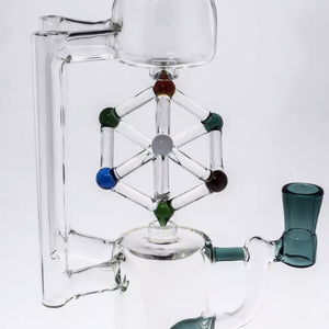 Heady Spinning Glass Cube Bong