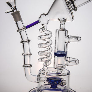 "Cosmic Willy Wonka's Smoke Factory - 14"" Recycler Rig"