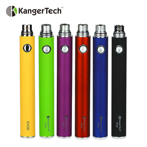 Original Kangertech EVOD Manual Battery Built-in 1000mAh Battery with 5-click Protection Compatible for EGo Tank Vape Battery - High Horse Labs