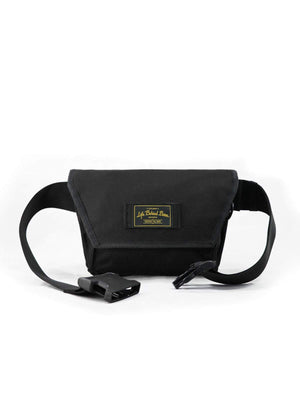 Life Behind Bars The Musette Hip Pouch Black - MORE by Morello Indonesia