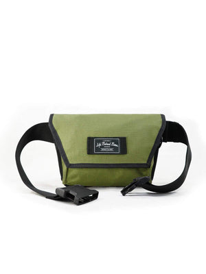 Life Behind Bars The Musette Hip Pouch Olive-Bags-Life Behind Bars-MORE by Morello