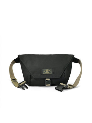 Life Behind Bars The Slingshot 9L Sling Bag Black Coyote-Bags-Life Behind Bars-MORE by Morello