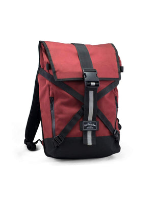 Life Behind Bars The Breakaway 27L Backpack Deep Red - MORE by Morello Indonesia