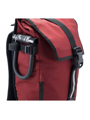 Life Behind Bars The Breakaway 27L Backpack Deep Red - MORE by Morello - Indonesia