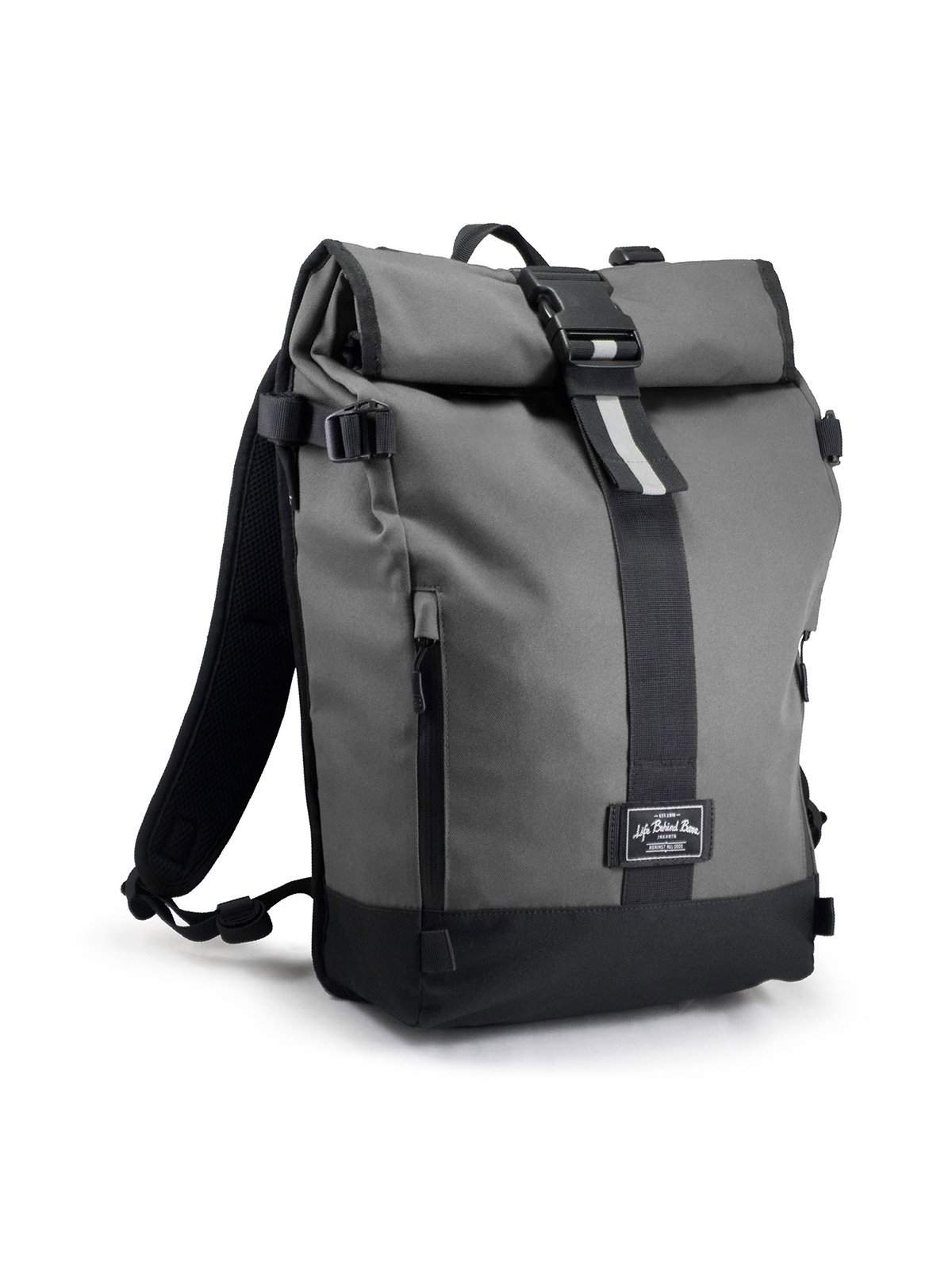 598af4f2ffd6 Life Behind Bars The Breakaway 27L Backpack Grey - MORE by Morello -  Indonesia