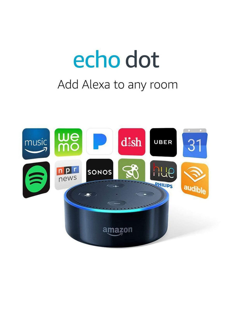 Amazon Echo Dot 2nd Generation Smart Speaker - MORE by Morello Indonesia