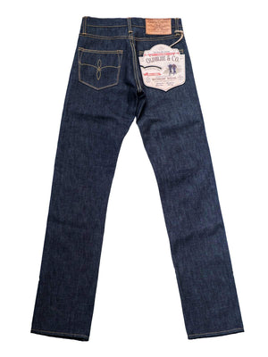 "Oldblue Co. 7.75"" Cut - 14 Oz Indigo White Oak Cone-Denim-Oldblue Co.-MORE by Morello"