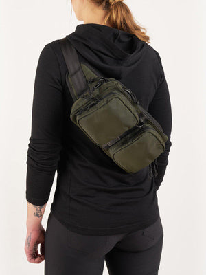 Chrome Industries MXD Notch Sling Bag Black Ballistic - MORE by Morello - Indonesia