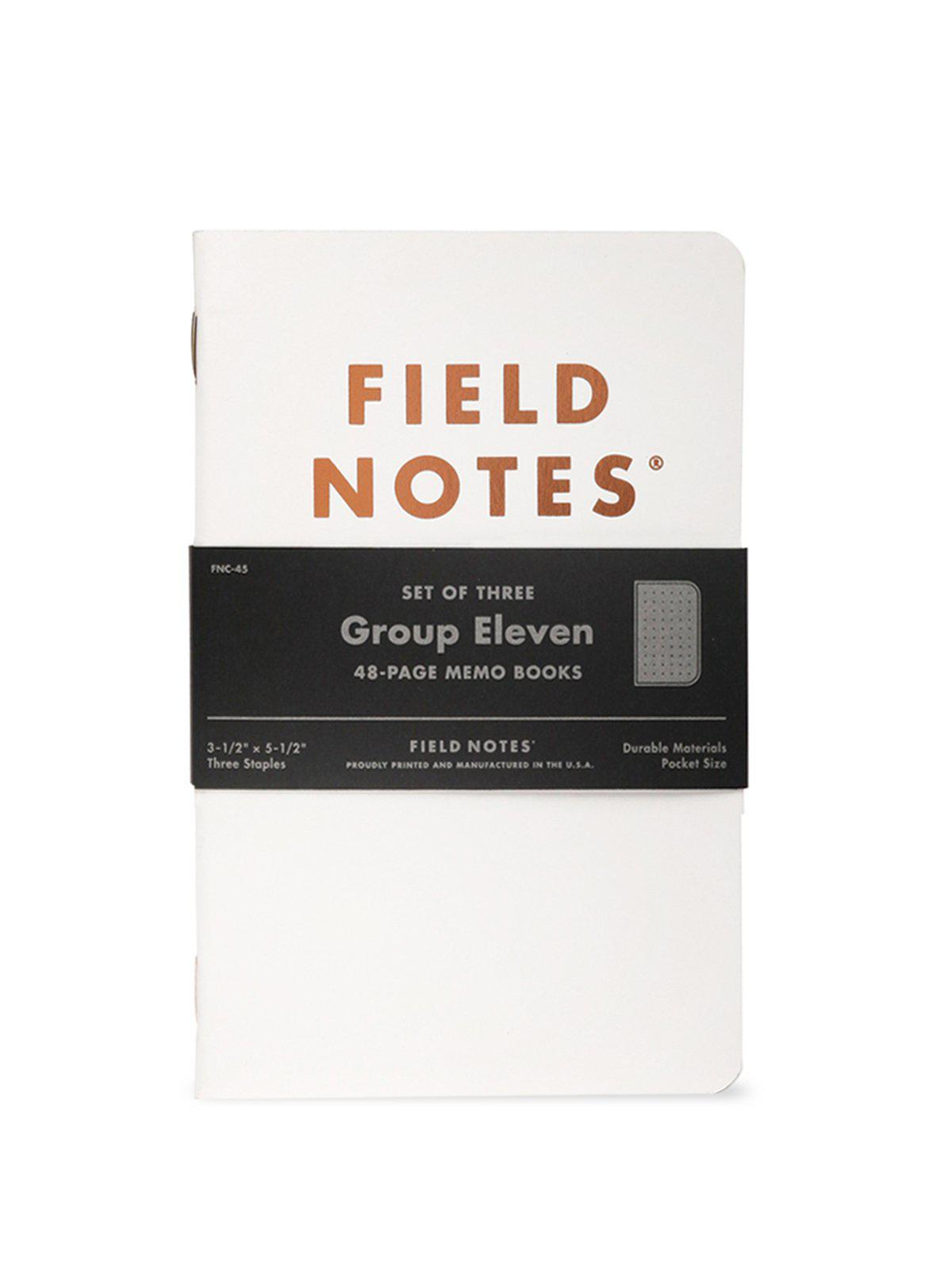 Field Notes Group Eleven 3 Pack Dot Graph Paper - MORE by Morello Indonesia