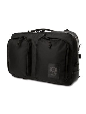 Topo Designs Global Briefcase Black Ballistic