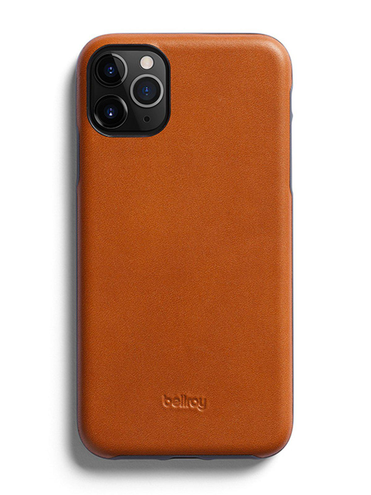 Bellroy Leather Phone Case for iPhone 11 Pro Max Caramel - MORE by Morello Indonesia