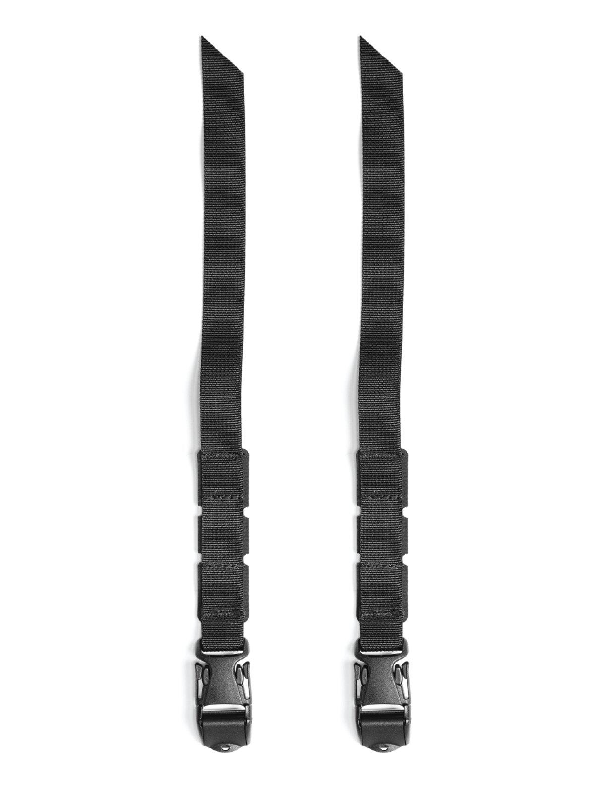 Black Ember Utility Straps (Set of Two)